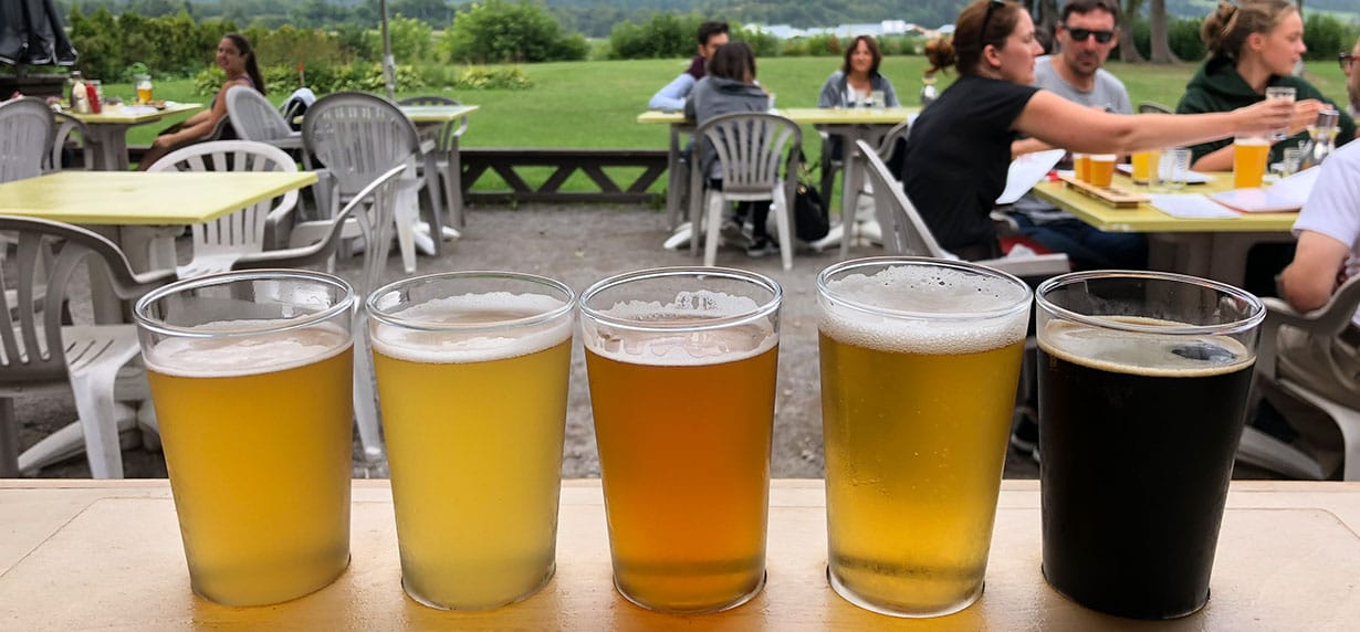 The Saguenay-Lac-Saint-Jean craft beer trail