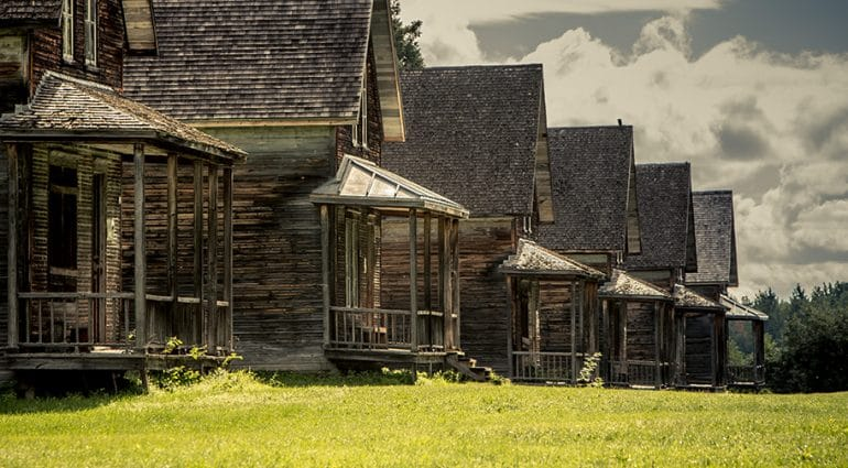 Spend the night in Val Jalbert, Canada's best preserved ghost village