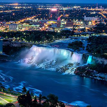 The city of Niagara Falls