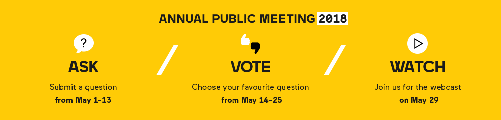 VIA Rail's Annual public meeting 2018 - Learn more