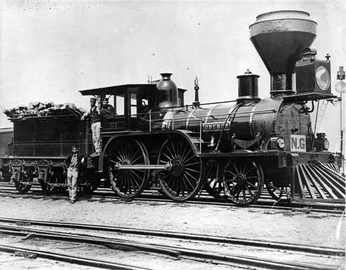 Building The Canadian Railway Via Rail