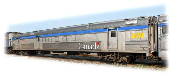 Baggage car - VIA Rail Canada