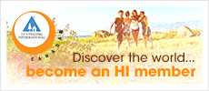 Discover the world... become an HI member