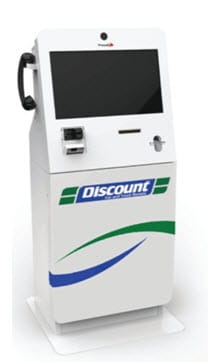 Image of a Discount Car kiosk