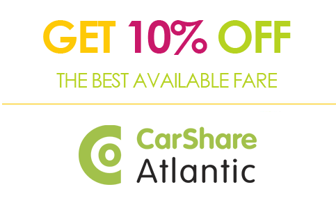 Get 10% OFF the best available fare