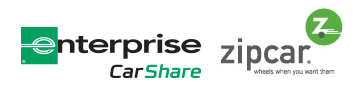 VIA Rail + Enterprise + Zipcar