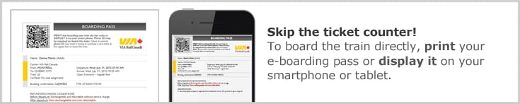 Print or display your boarding pass on your smartphone