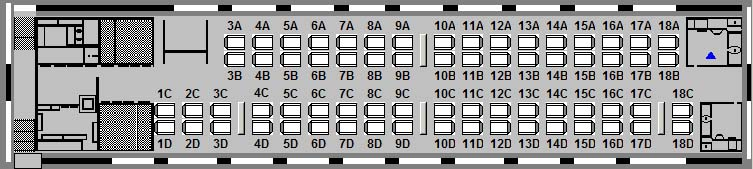 diagram_50 50_Economy lrc car (economy class) via rail