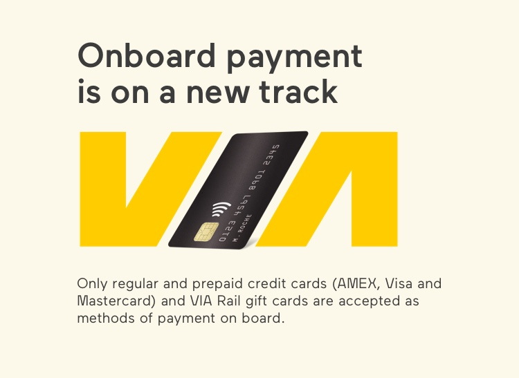 Starting October 29, 2019, we'll only accept credit cards