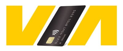 Credit card - VIA Logo