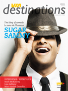 Magazine VIA destinations - SUGAR SAMMY