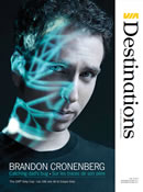 Magazine VIA destinations - Brandon Cronenberg