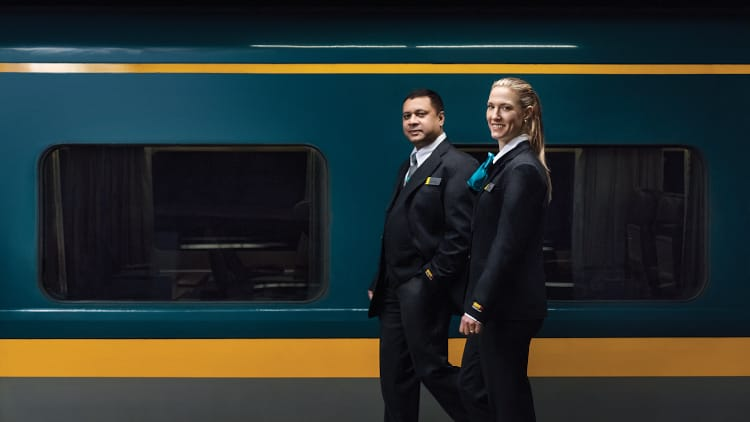 VIA Rail travel agent