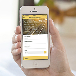 VIA Rail mobile app for iPhone and Android