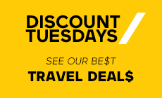 Discount Tuesdays / Best travel Deals