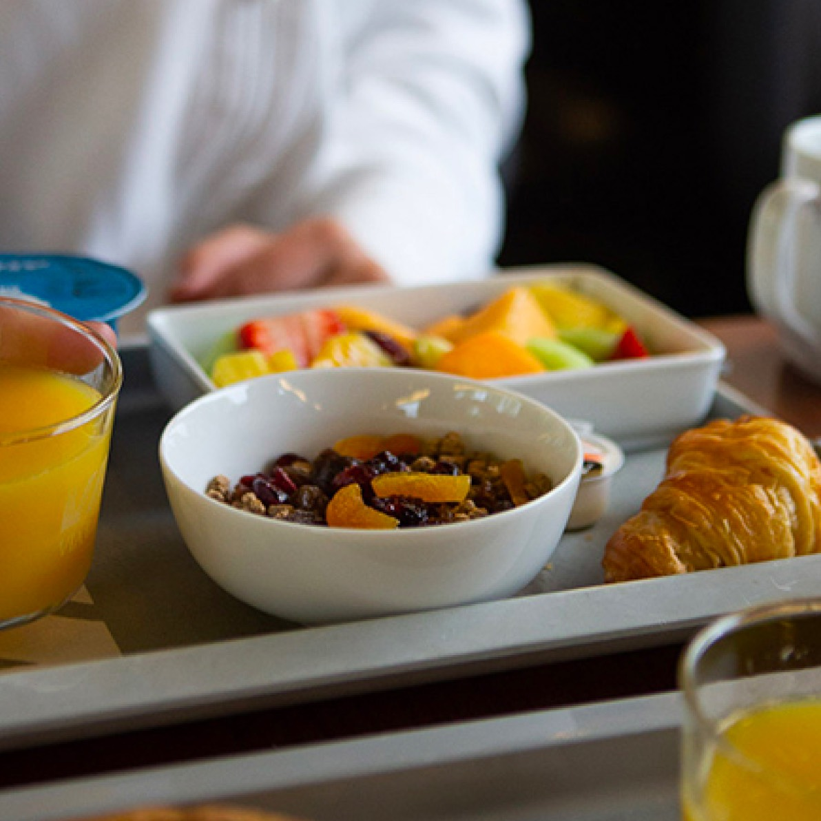 Menu, Food and Drinks on board | VIA Rail